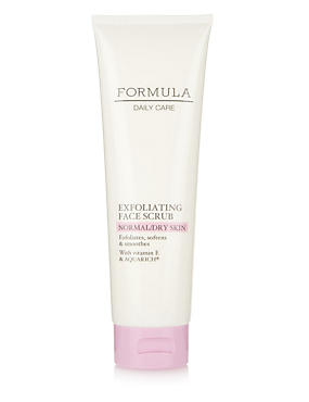 Daily Care Exfoliating Face Scrub for Normal/Dry Skin 150ml