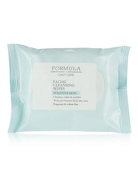 Daily Care Facial Cleansing Wipes for Sensitive Skin