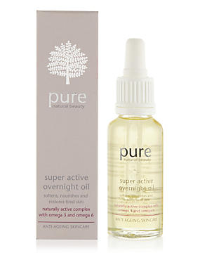 Super Active Anti-Ageing Overnight Oil 28ml