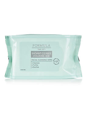 Radiant Facial Cleansing Wipes