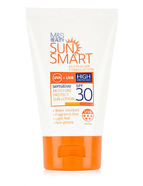 Travel Size Sensitive Moisture Protect Sun Lotion SPF30 50ml, , catlanding