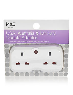 Double USA Adaptor