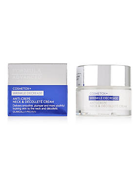Cosmetox+ Anti-Crepe Neck & Decollete Cream 50ml