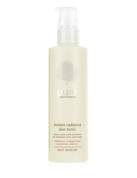 Pure Daily Skincare Instant Radiance Skin Tonic 200ml