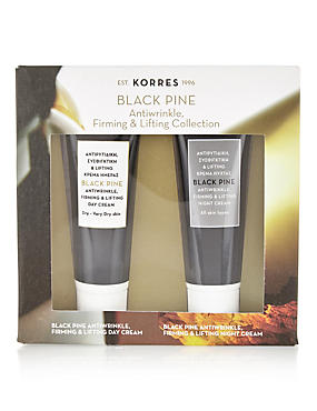 Black Pine Antiwrinkle, Firming & Brightening Collection Worth £31.20