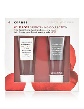 Wild Rose Brightening Collection Worth £18.40