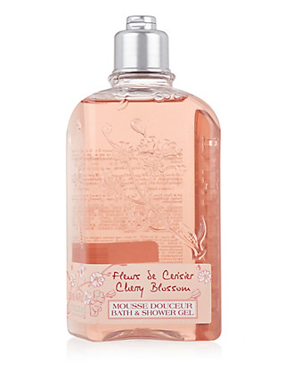 Cherry Blossom Bath & Shower Gel 250ml Home