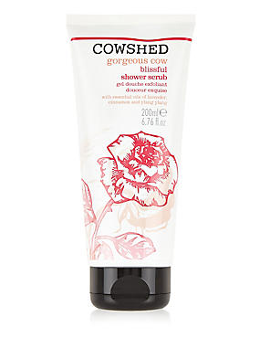 Gorgeous Cow Shower Scrub 200ml, , catlanding