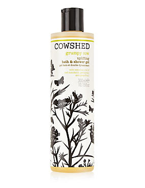 Grumpy Cow Bath & Shower Gel 300ml, , catlanding