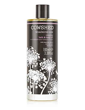Knackered Cow Bath & Body Oil 100ml, , catlanding