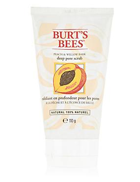 Peach & Willow Bark Deep Pore Scrub 110g, , catlanding