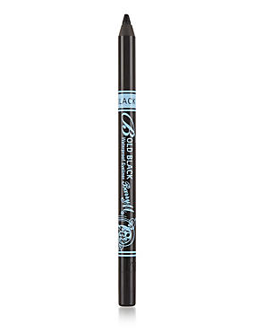 Bold Waterproof Eyeliner 1.4g, BLACK, catlanding