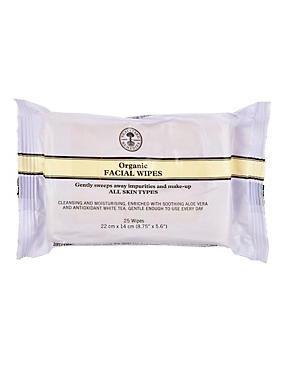 Organic Facial Wipes 25