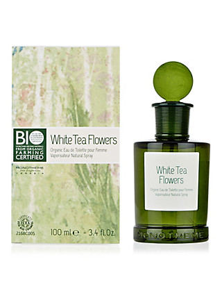 White Tea Organic Eau de Toilette 100ml Home