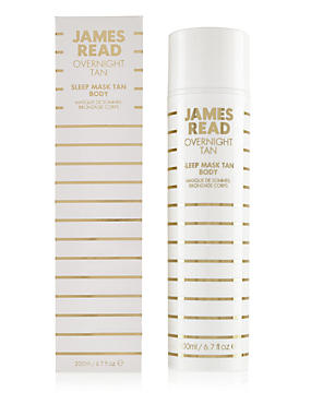 Sleep Mask Tan Body 200ml