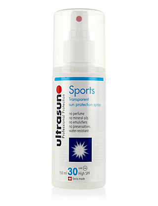 Clear Sun Protection Spray SPF30 150ml Home