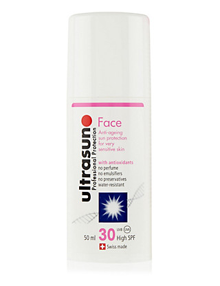 Anti-Ageing Sun Cream for Sensitive Skin SPF30 50ml Home