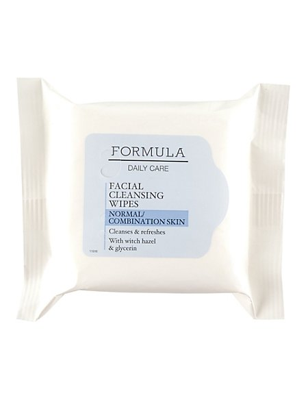 Daily Care Facial Cleansing Wipes for Normal/Combination Skin