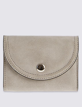 Faux Leather Purse with Cardsafe™