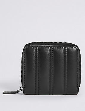 Leather Quilted Purse