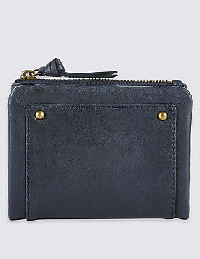 Leather Purse with Cardsafe™