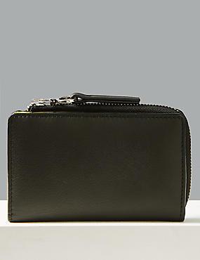 Leather Fold Over Purse, , catlanding