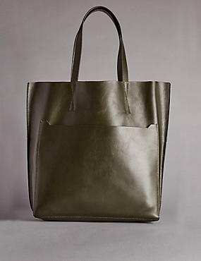 Leather Tilder Shopper Bag