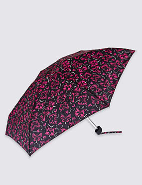 Butterfly Spots Compact Umbrella with Stormwear™