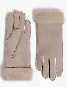 Sheepskin Gloves, MINK, catlanding