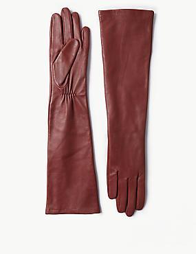 Leather Gloves, RUST, catlanding