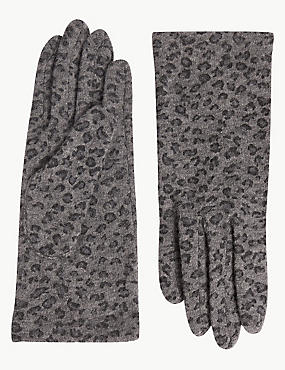 Printed Gloves, , catlanding