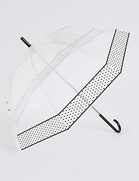 Mini Spotted Walker Umbrella with Stormwear™