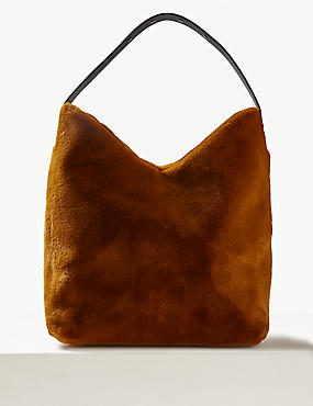 Faux Fur Shoulder Bag , GINGER, catlanding