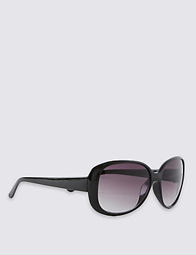 Oval Oversized Sunglasses