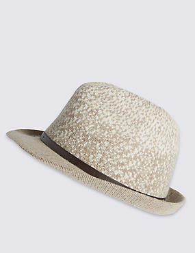 Thermo Ombre Wool Blend Trilby Hat