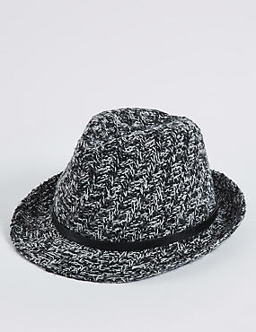 Buckle Trilby Winter Hat