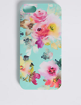 iPhone 5/5s Floral Print Phone Case