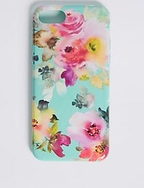 iPhone 7 Floral Print Phone Case