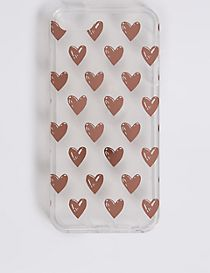 iPhone 5/5S Heart Print Phone Case
