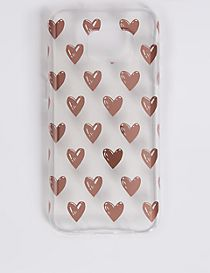 Samsung S7® Heart Print Phone Case