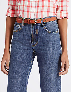 Nubuck Jeans Hip Belt, BURNT ORANGE, catlanding