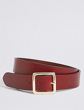 Leather Core Jeans Hip Belt