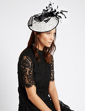 Lace Disc Fascinator