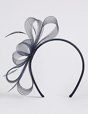 Textured Fascinator Bow