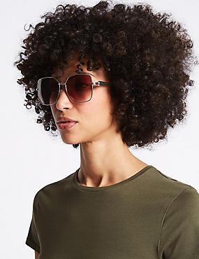 Refined Sunglasses, BROWN MIX, catlanding