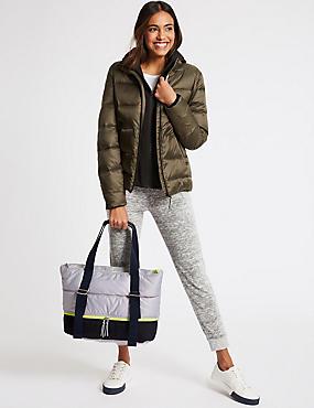 Marks And Spencer Sac Shopping Actif Avec Stormwear Mélange Noir confortable Les Dates De Sortie Vente En Ligne rDQJ2Vcd