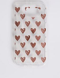 Samsung S6® Heart Print Phone Case
