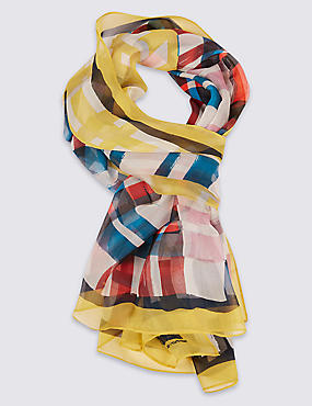 Pure Silk Printed Scarf