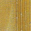 Sequin Striped Scarf, OCHRE, swatch