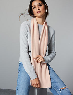 Pure Cashmere Scarf , , catlanding